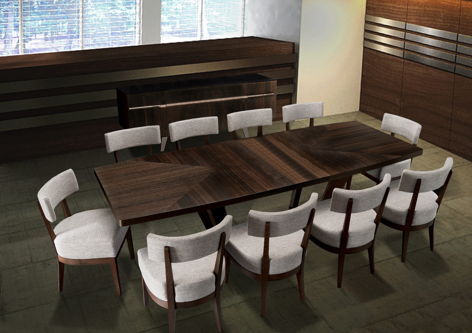 acerno zoli contemporary living 11223 | acerno dining set